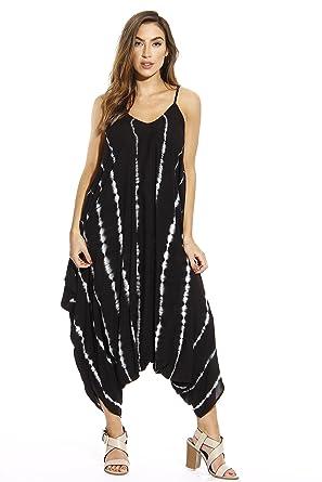 cf5f70ff0d4 Amazon.com  Riviera Sun Harem Jumpsuit Romper Jumpsuits for Women  Clothing