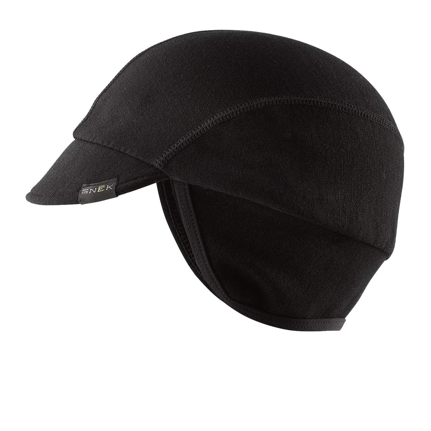 Black Snēk Cycling Cycling Caps Light to Heavy Weight  Made In The USA