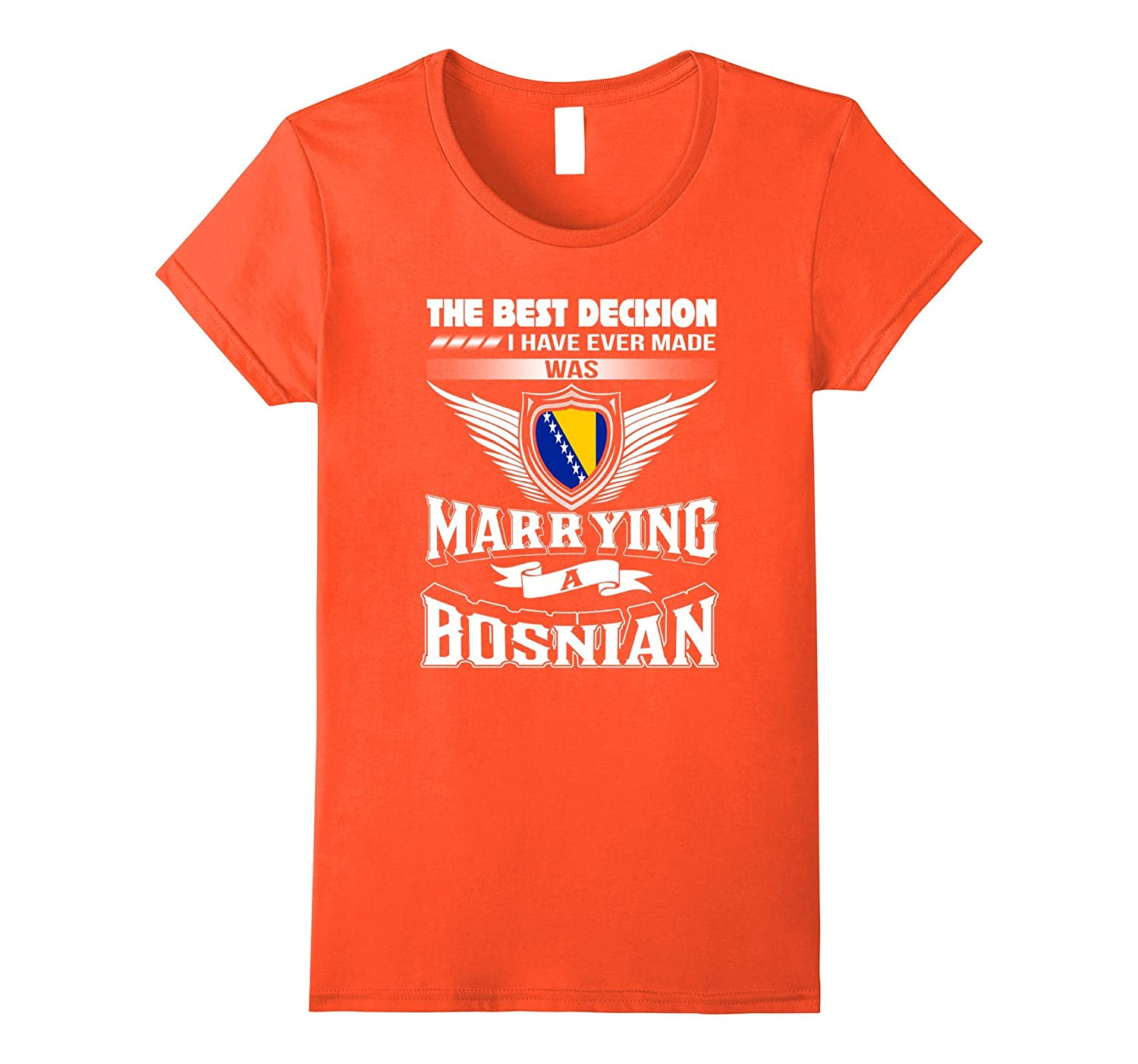 Married with Bosnia shirt