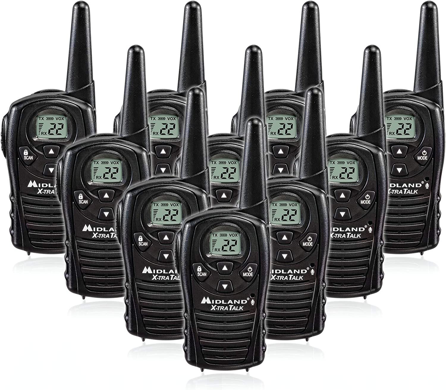 futurepost.co.nz Up to 18 Mile Range Two Way Radio Pack of 4 ...