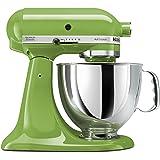 KitchenAid KSM150PSGA Artisan 5-Quart Stand Mixer, Green Apple