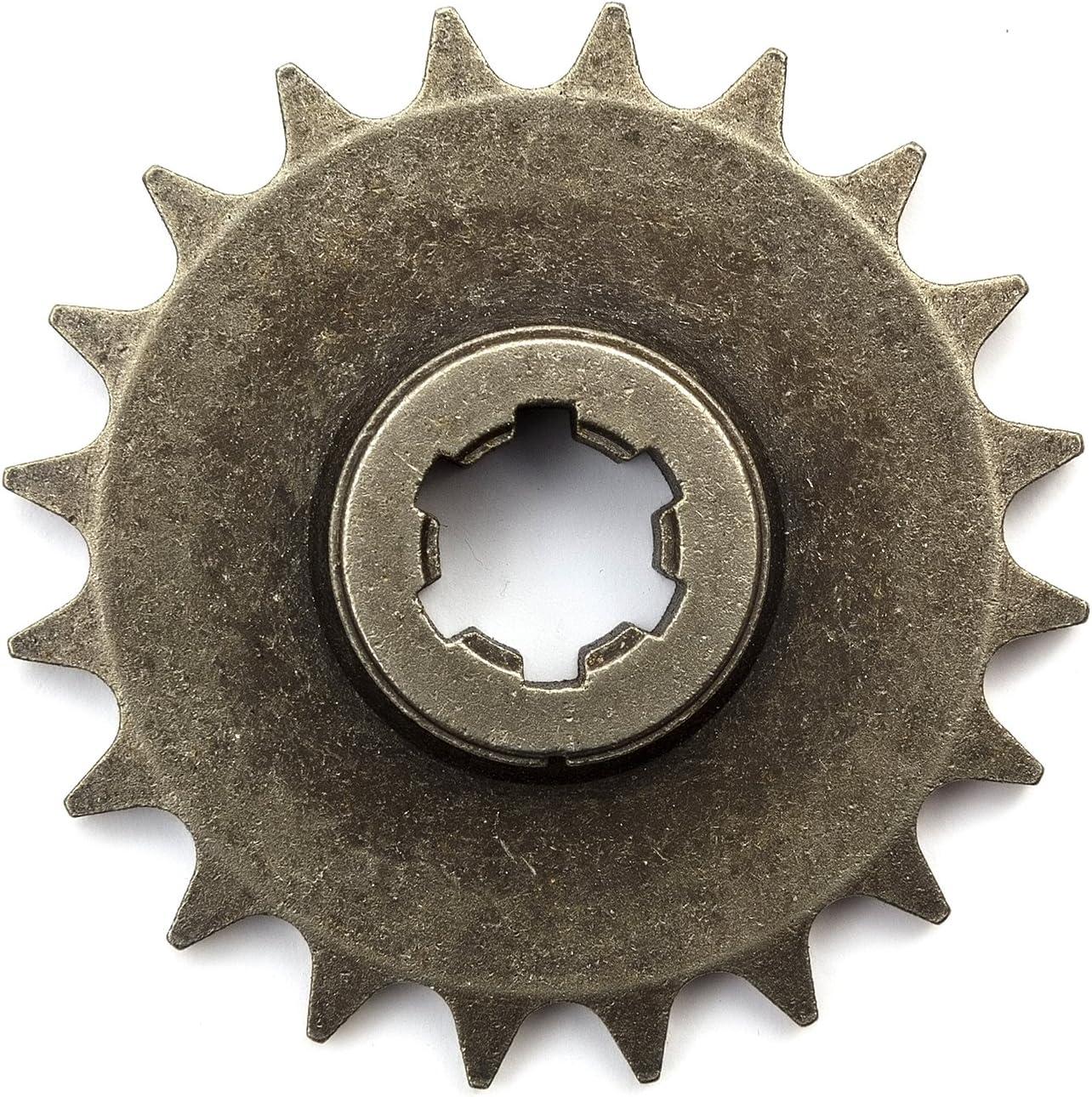 Trottinette /à essence 20/dents 8/mm Bo/îte de Vitesse Drive Pignon 6/SPLINE Compatible avec moteur pr/ésent/ée