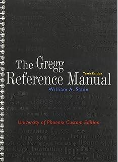 The gregg reference manual w desktop edition access card william the gregg reference manual 10th edition university of phoenix custom edition spiritdancerdesigns Choice Image