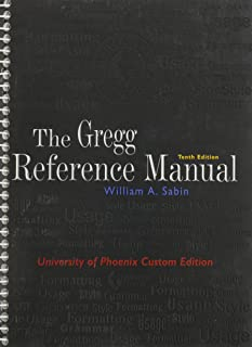 comprehensive worksheets on style grammar usage and formatting to rh amazon com Gregg Reference Book Gregg Style Guide