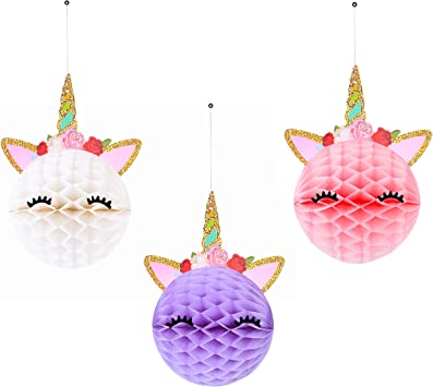 Amazon.com: Papel de seda Unicornio Decoraciones Fiesta ...