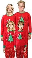 IF Family Christmas Tree Pajamas Family Matching Sleepwear Cotton Kids PJS Pants Set