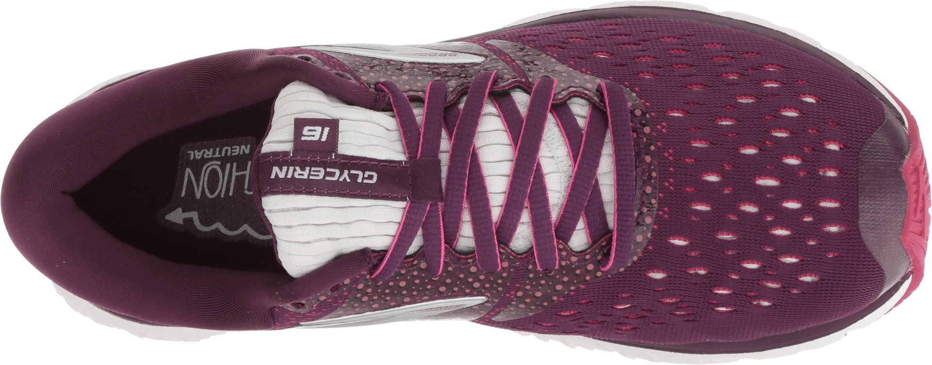 Brooks Women's Glycerin 16 Purple/Pink/Grey 6.5 B US by Brooks (Image #2)