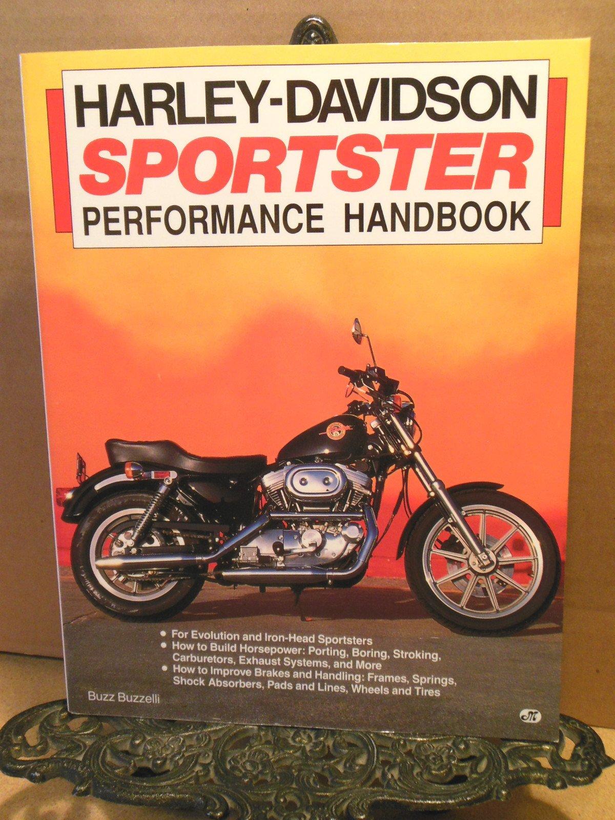 Harley-Davidson Sportster Performance Handbook (Performance Handbook Series)