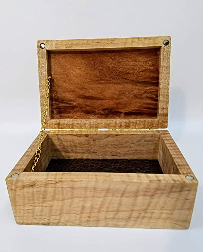 Amazoncom Fancy Wooden Stash Box Made Of Maple And Cherry Knick