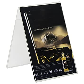 Clear-Ad - LHO-46 - Acrylic Double Sided Table Tent Sign Holders 4x6  sc 1 st  Amazon.com & Amazon.com : Clear-Ad - LHO-46 - Acrylic Double Sided Table Tent ...