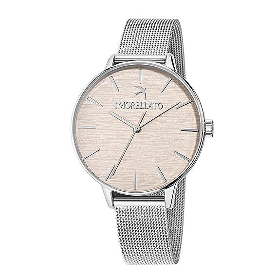 MORELLATO Reloj Analógico para Mujer de Cuarzo con Correa en Acero Inoxidable R0153141511: Amazon.es: Relojes