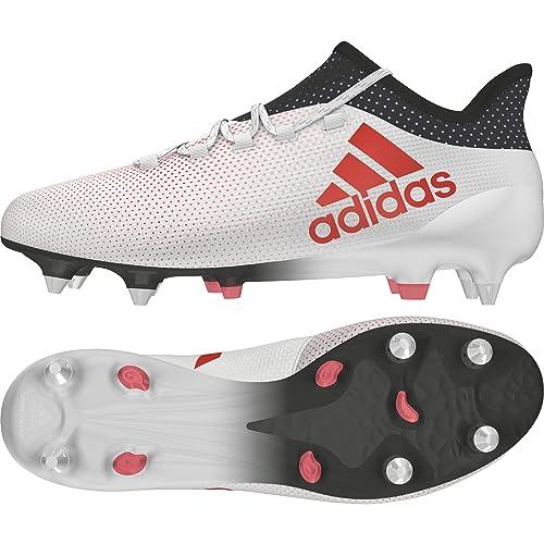 on sale 4771a ef900 Adidas X 17.1 SG, Botas de fútbol para Hombre, Blanco (FtwblaCorreaNegbás  000), 41 13 EU Amazon.es Zapatos y complementos