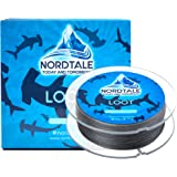 Nordtale Loot Braided Fishing Line 300yards 547yards - Improved Braided Fishing Lines - Abrasion Resistance - Zero Stretch - Thinner Diameter 6lb-80lb