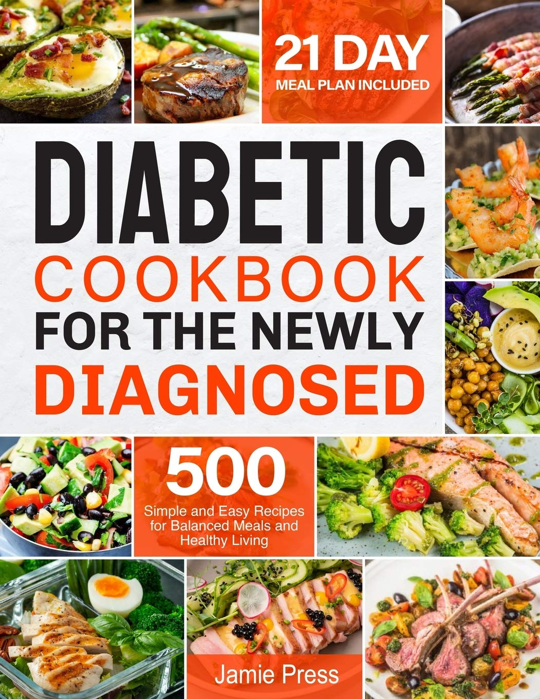 Diabetic Cookbook for the Newly Diagnosed 8 Simple and Easy ...