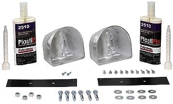 Amazon com: Polyvance Kenworth T800 Hood Repair Kit: Automotive