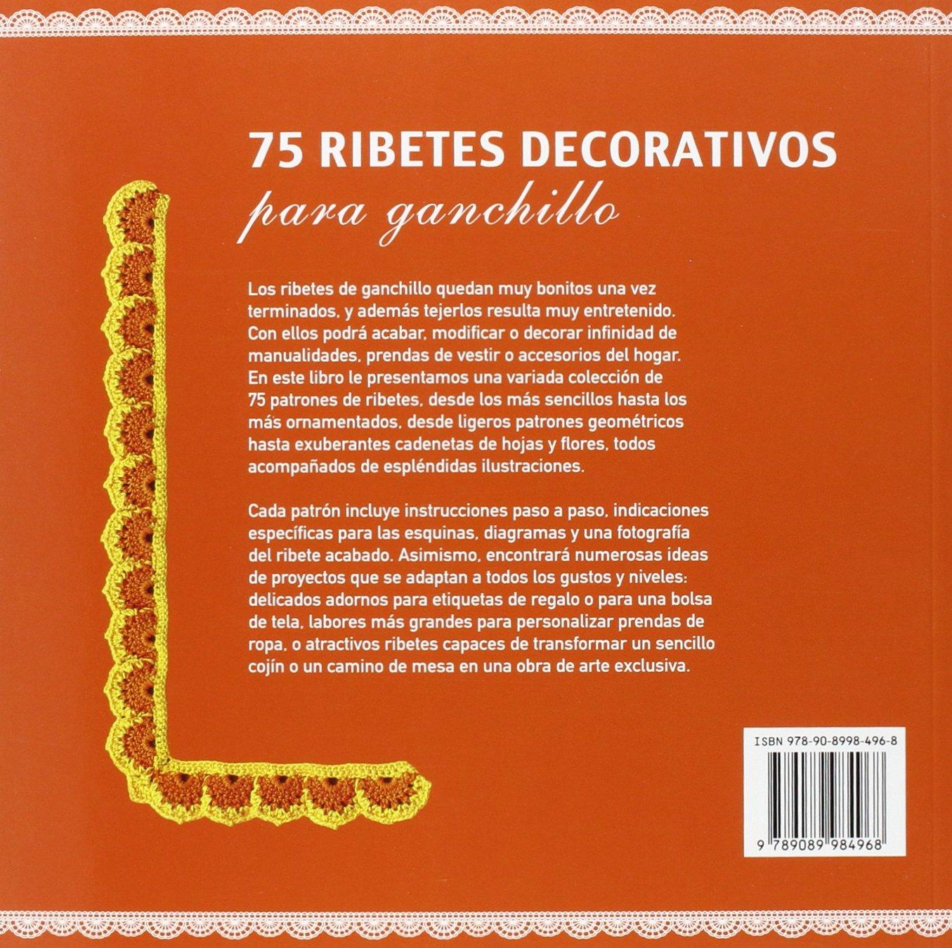 75 ribetes decorativos para ganchillo: CAITLIN SAINIO ...