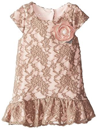 335fdc16bd99 Amazon.com  PIPPA   JULIE Little Girls  Lace Drop Waist Dress  Clothing