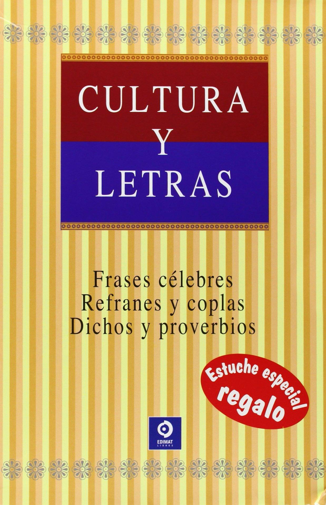 ESTUCHE CULTURA Y LETRAS - EDIMAT: 9788497949958: Amazon.com ...