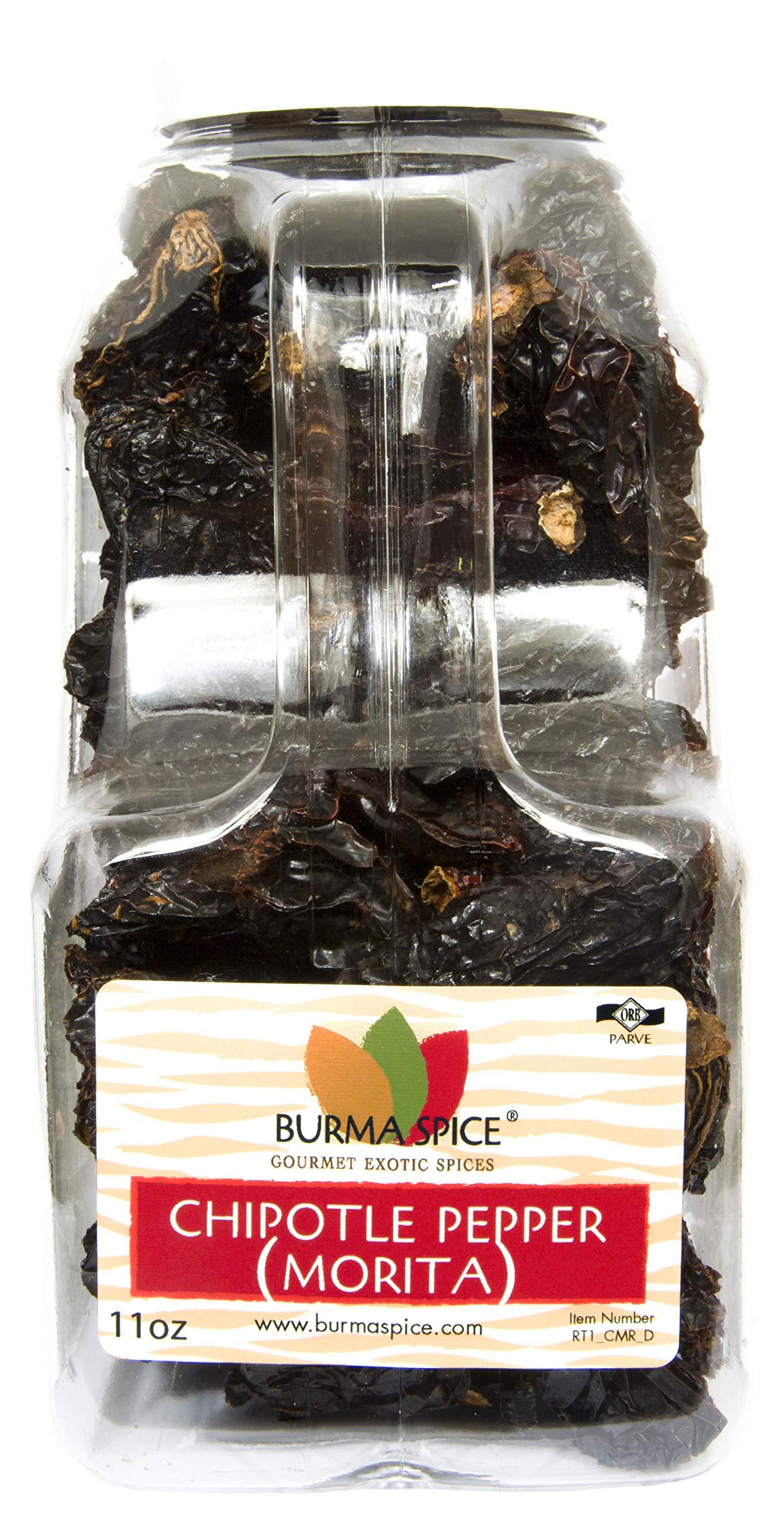 Dried Morita Chipotle Pepper (11oz.) by Burma Spice (Image #1)