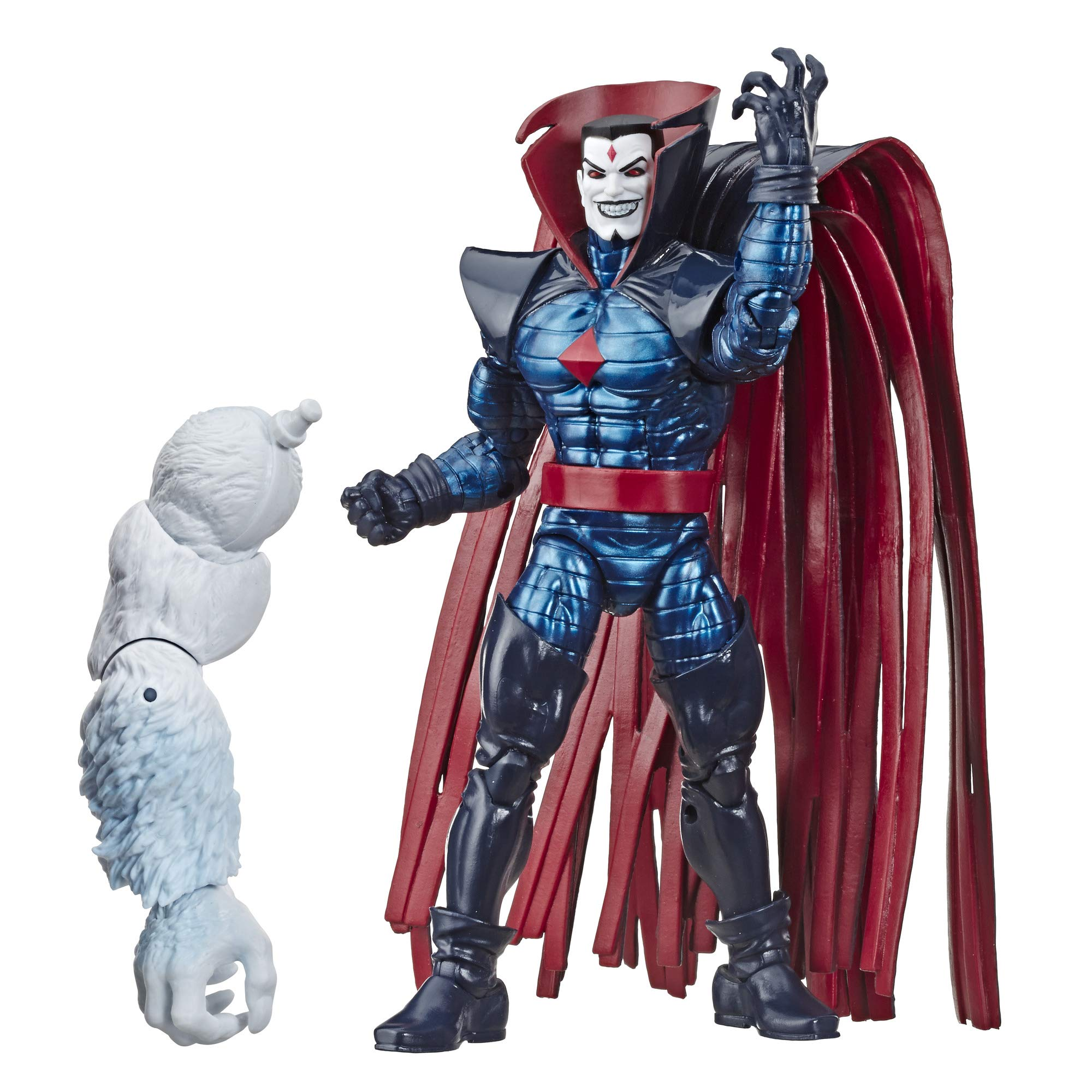 """Marvel Classic Hasbro Marvel Legends Series 6"""" Collectible Action Figure Mister Sinister Toy (X-Men/X-Force Collection) – with Wendigo Build-A-Figure Part, Brown/A"""