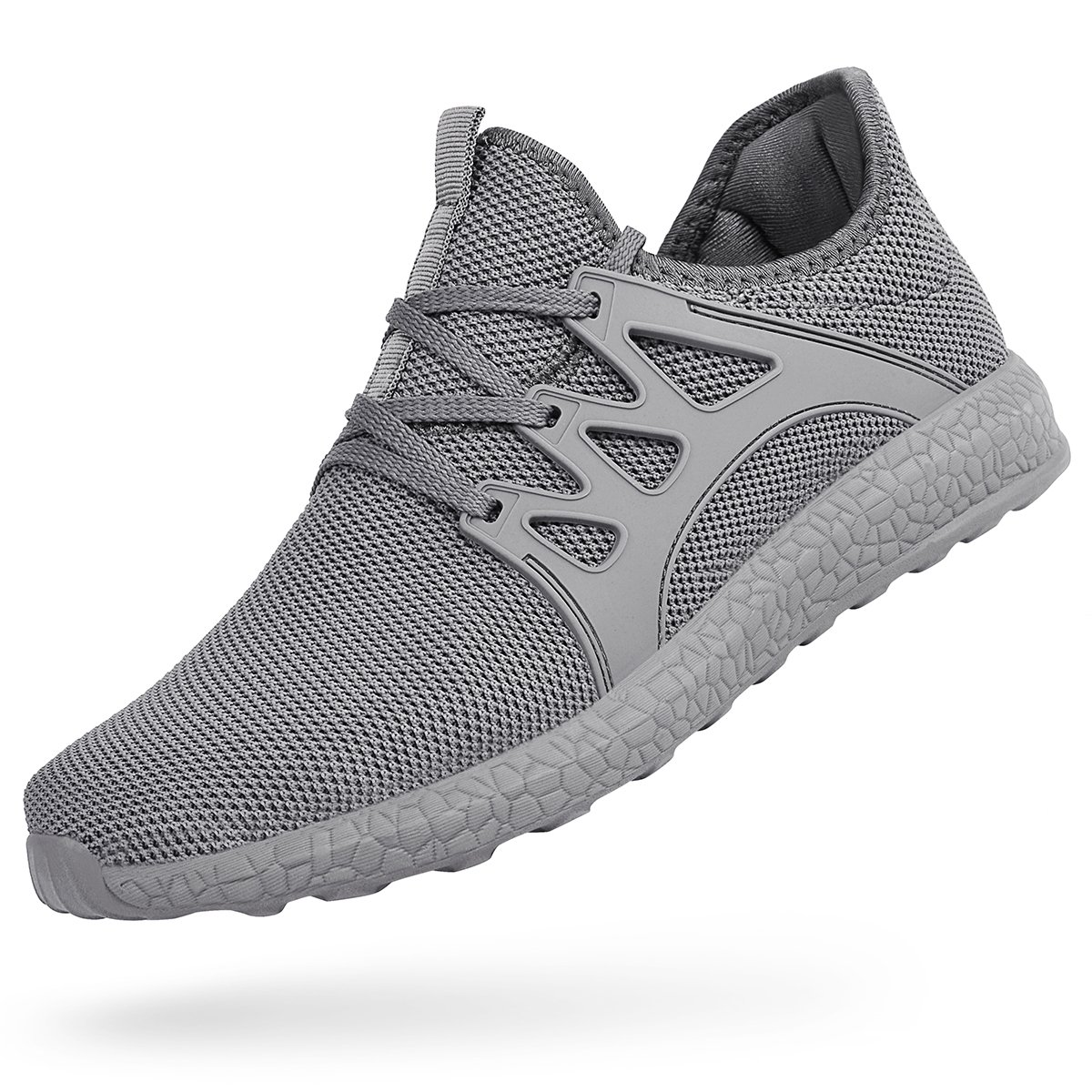Feetmat Men's Sneakers Lightweight Breathable Mesh Gym Casual Shoes