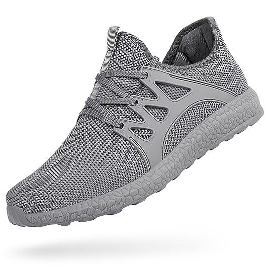 ae5307ee7b942b ZOCAVIA Herren Damen Sneaker Running Laufschuhe Sportschuhe rutschfeste  Sneaker