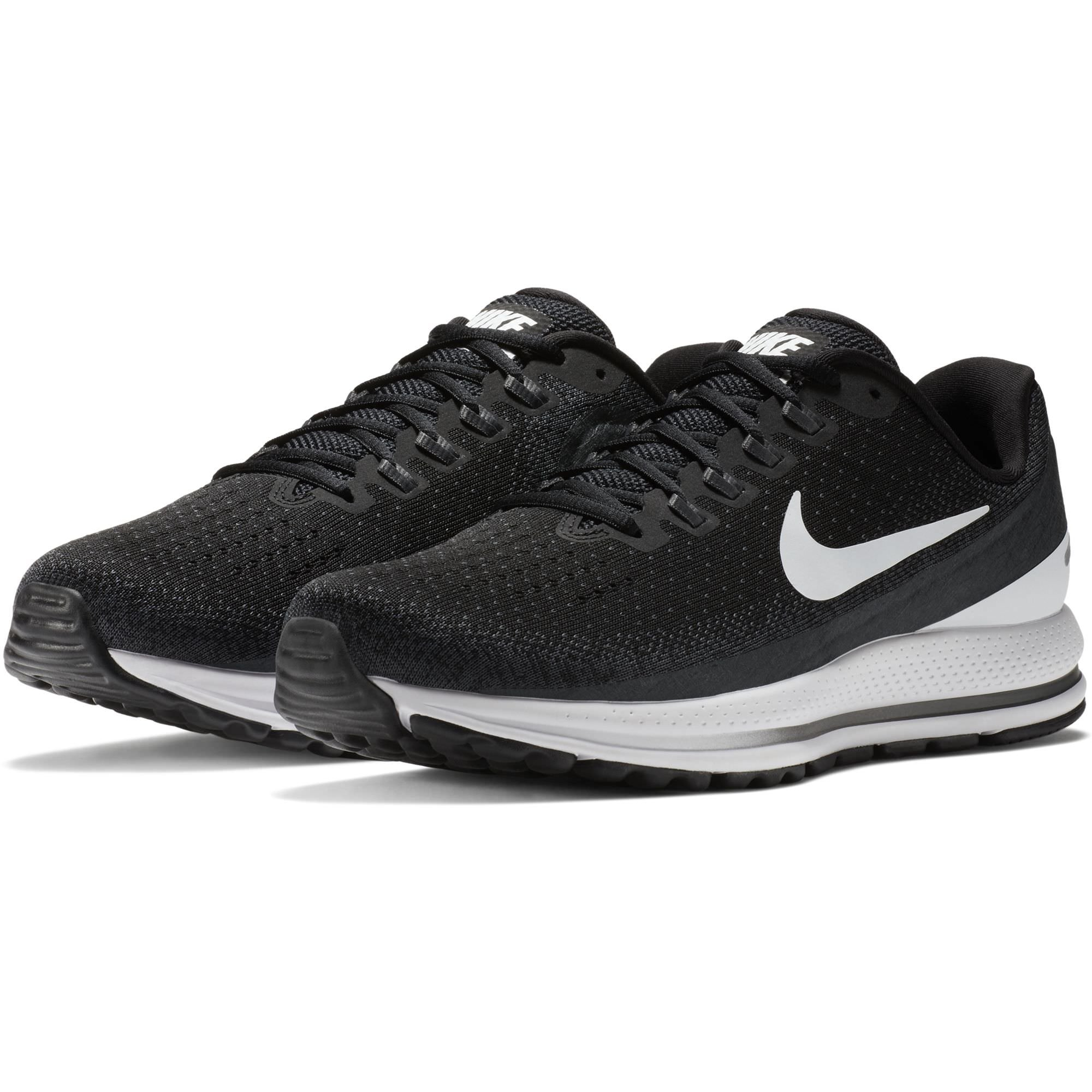 283c0dc2db0 Galleon - NIKE Men s Air Zoom Vomero 13 Running Shoe Wide (2E)  Black White-Anthracite 10.5