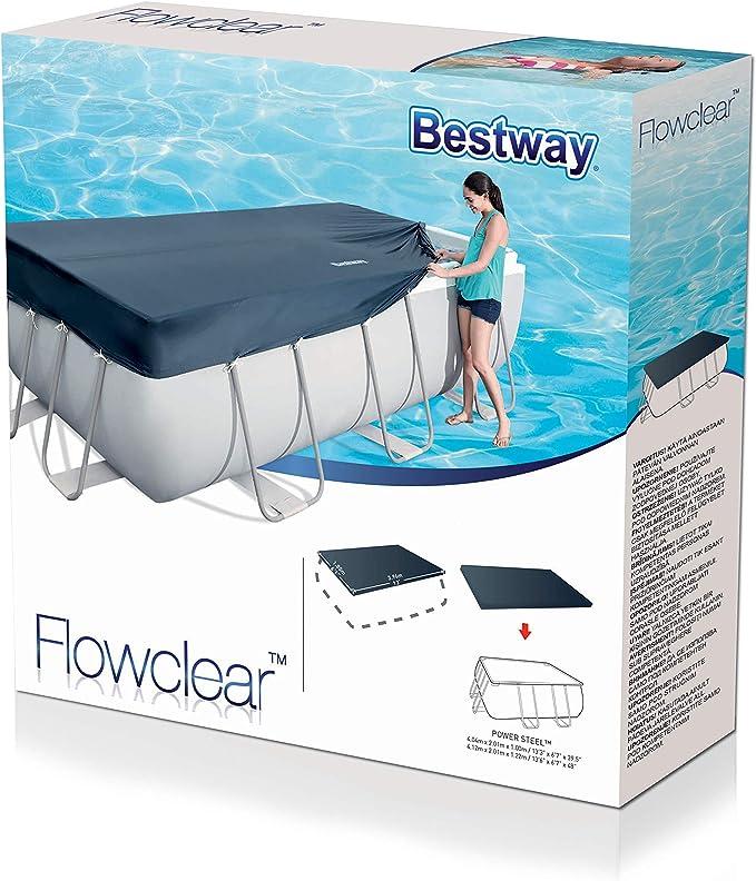 Bestway 58232 - Cubierta para piscina de estructura splash 404 ...