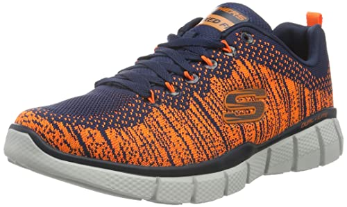 Skechers Herren Equalizer 2.0 Perfect Game Sneaker, Blau
