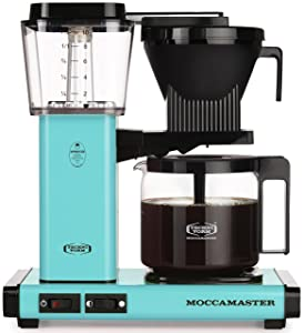 Technivorm Moccamaster 59160 KBG Coffee Brewer 40 oz Turquoise