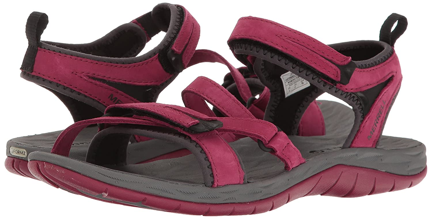 Merrell Women's Siren Strap Q2 Athletic Sandal B01HGW4S2K 11 B(M) US|Beet Red