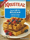 KRUSTEAZ BELGIAN WAFFLE MIX 28 OZ, Pack of 2