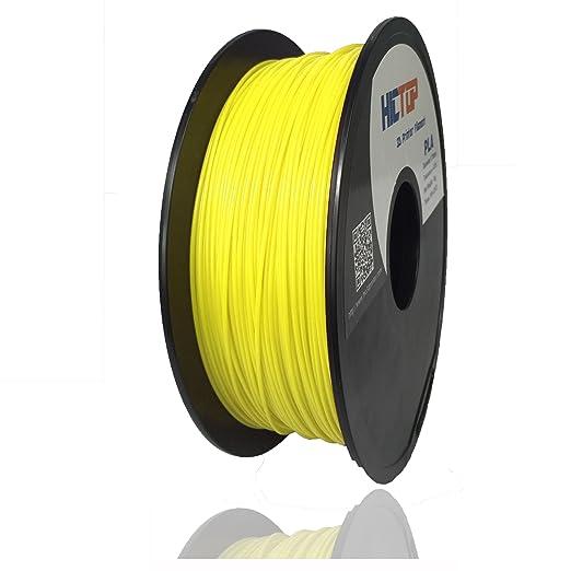 5 opinioni per HICTOP 1,75 millimetri PLA stampante 3D filamento- 1kg bobina (2,2 lbs)-