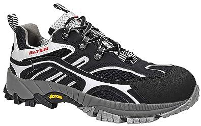 Elten S1 Racer 2007 - Zapatillas de seguridad, color negro, talla 39