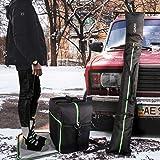 QiMH Padded Ski Bag & Boot Bag Combo - Ski Boot