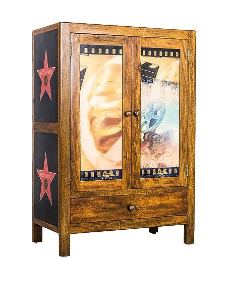 Stones Colección Hollywood cajonera, Madera, 75 x 40 x 110 ...