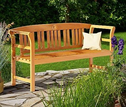 Banc De Jardin Rose 150cm Eucalyptus Bois Dur Certifie Fsc Banc Exterieur Amazon Fr Jardin