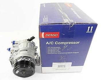 Denso DCP02041 - Compresor De Aire Acondicionado: DENSO: Amazon.es: Coche y moto
