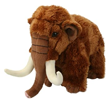 Amazon Com Living Nature Soft Toy Large Woolly Mammoth 22cm