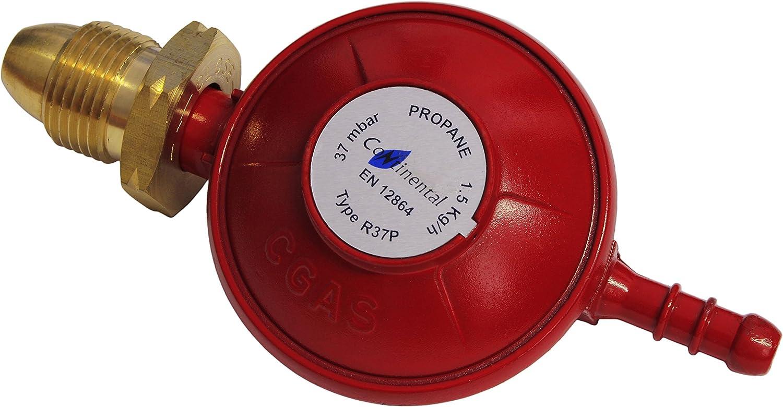 TPA - Regulador de gas propano para bombonas de Calor Gas (37 ...