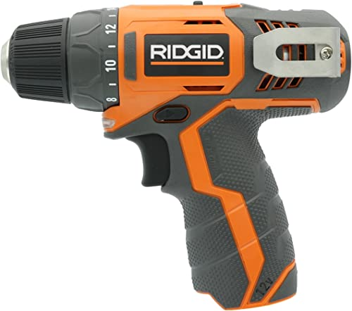 Ridgid R82005 Genuine OEM 3 8 Inch 12V Lithium Ion Brushless and Cordless 300 In-Lbs Drill Driver Battery Not Included