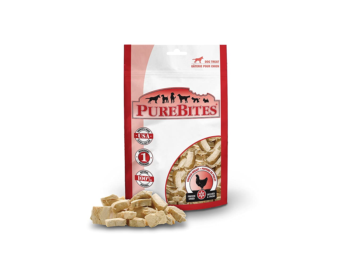 Purebites Chicken Breast For Dogs, 1.4Oz 40G – Entry Size, 32 Pack