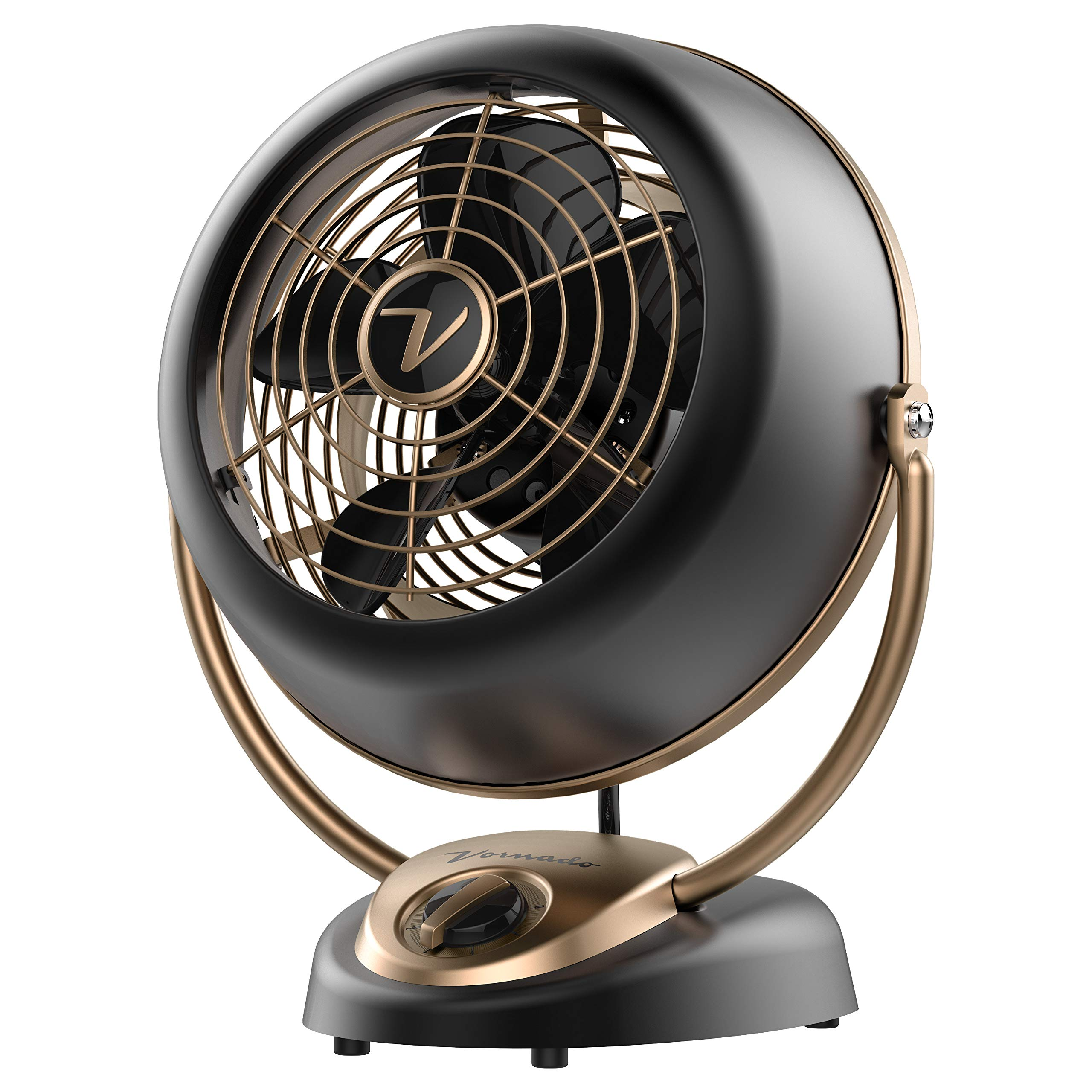 Vornado VFAN Alchemy Vintage Fan, Gunmetal by Vornado