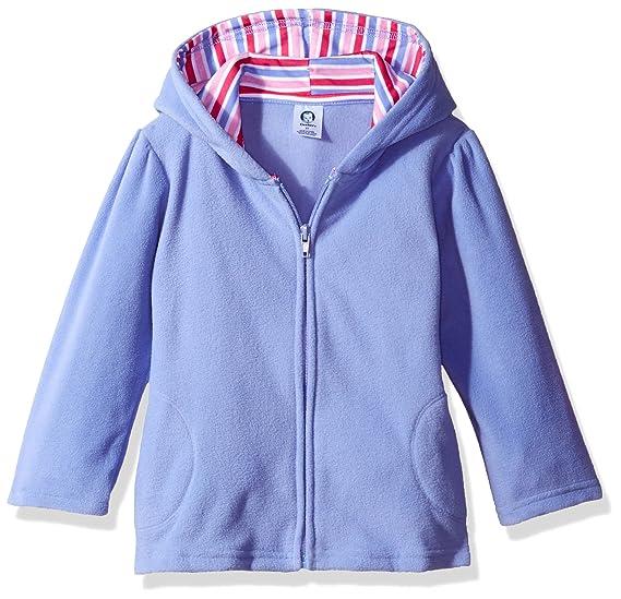 1601454c2 Amazon.com  Gerber Baby Girls  Hooded Micro Fleece Jacket  Clothing