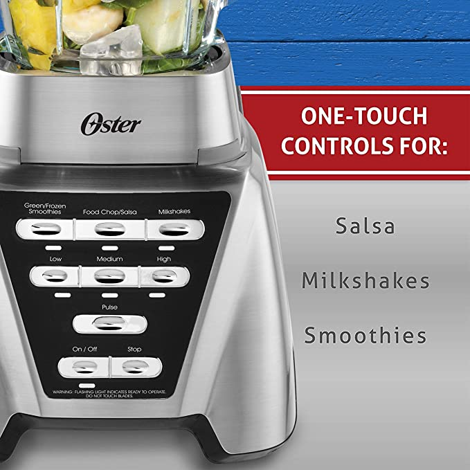 Oster Pro 1200 Plus Smoothie Cup - Brushed Nickel by Oster: Amazon ...