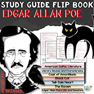 Study Guide Flip Book for Edgar Allan Poe, Short Stories