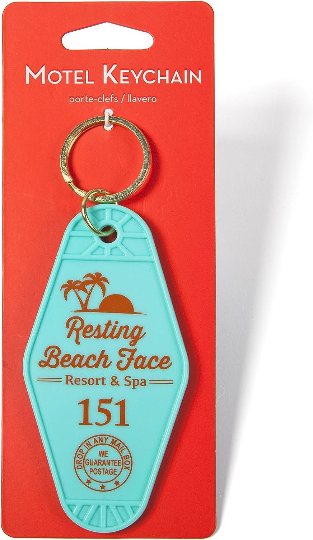 GAMAGO Resting Beach Face Keychain (LA1552)