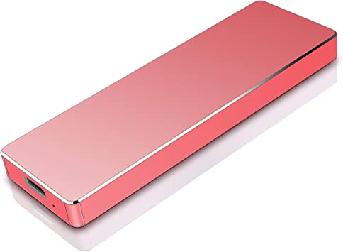 Meiger Disco Duro Externo USB 3.1 para Mac, PC, PS4,MacBook, Chromebook, Xbox (1tb, Rojo): Amazon.es: Electrónica