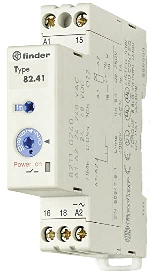 Finder Zeitrel Rückfa für Unterver 24-48VDC 230VAC 1W5A 82.41.0.240.0000