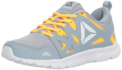 9b5ca1281 Reebok Women's Supreme 3.0 MT Running Shoe, Gable Grey/Fire Spark/White,